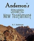 Anderson's Sinaitic New Testament