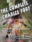 Complete Charles Fort, The (4 Volume Set Large Print Edition)