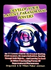 Develop Your Latent Paranormal Powers