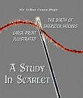 Study In Scarlet - Large Print