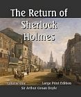 Return of Sherlock Holmes - Vol 1 & 2 in 1 Book- Large Print