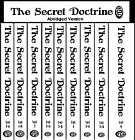 Secret Doctrine - 10 Book Set