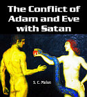 Conflict of Adam and Eve with Satan
