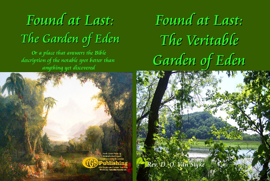 Found at Last: The Veritable Garden of Eden